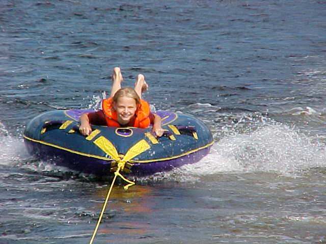 Tubing fun in the sun
