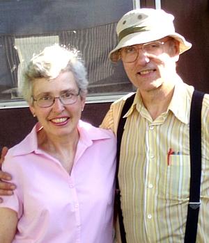 Marsha and Bob Laing