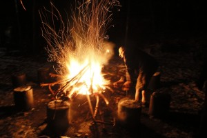 We supply wood for your campfire so all you need to do is light it and pass out the marshmallows.